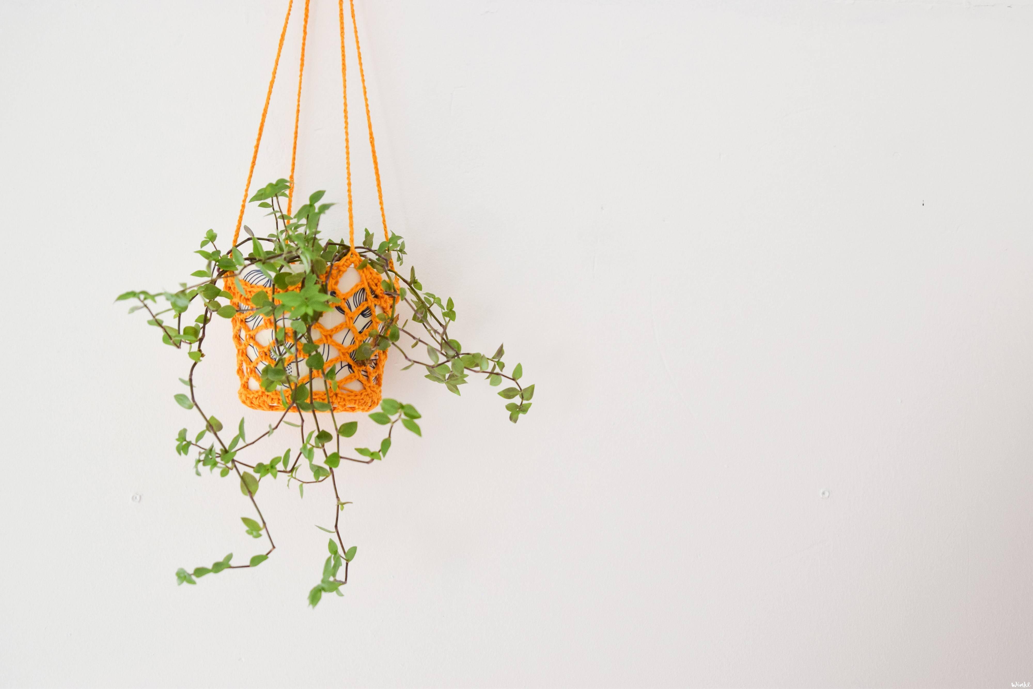 Een plantenhanger haken