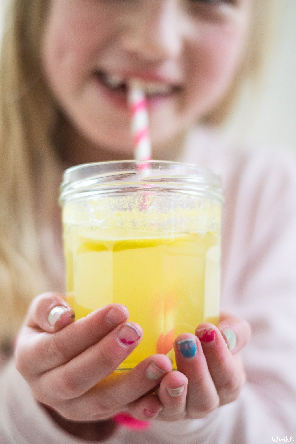 Warme winter limonade