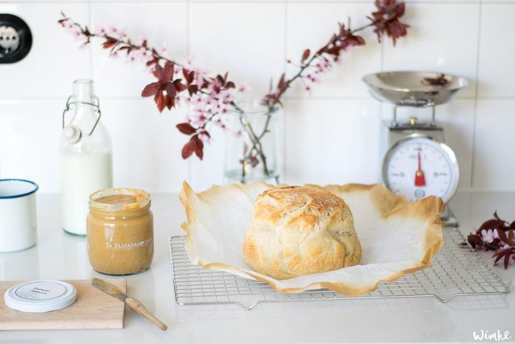 pandbrood met pindakaas