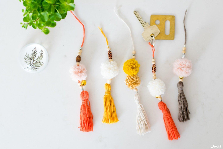 Pompoms en tassels DIY