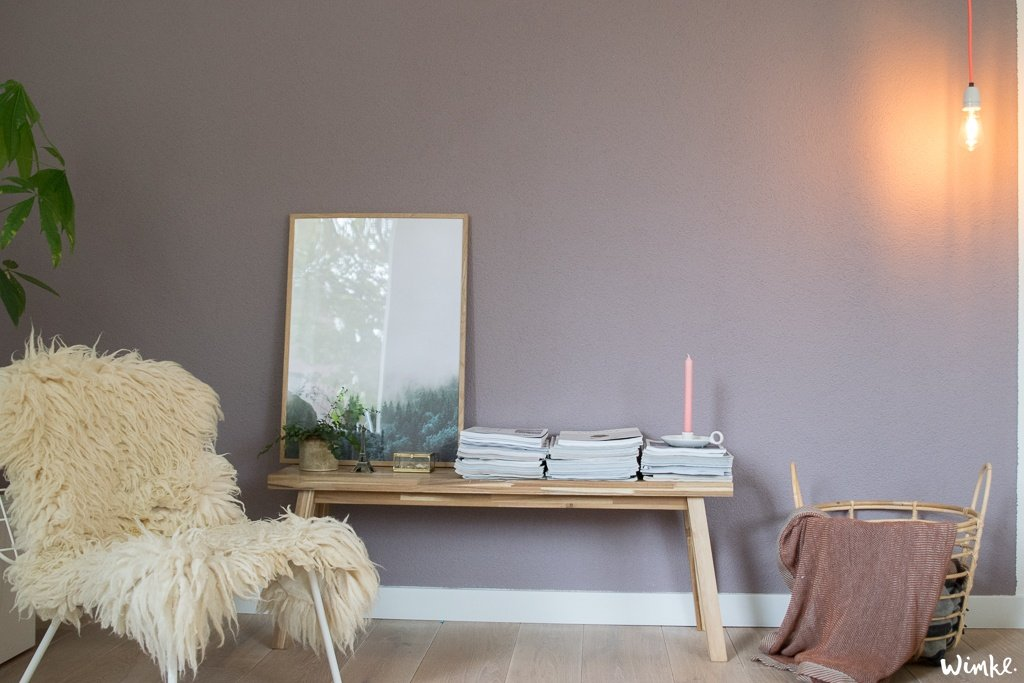 Warm Glow en Heart Wood - Flexa kleur van het jaar 2018 | www.wimke.nl
