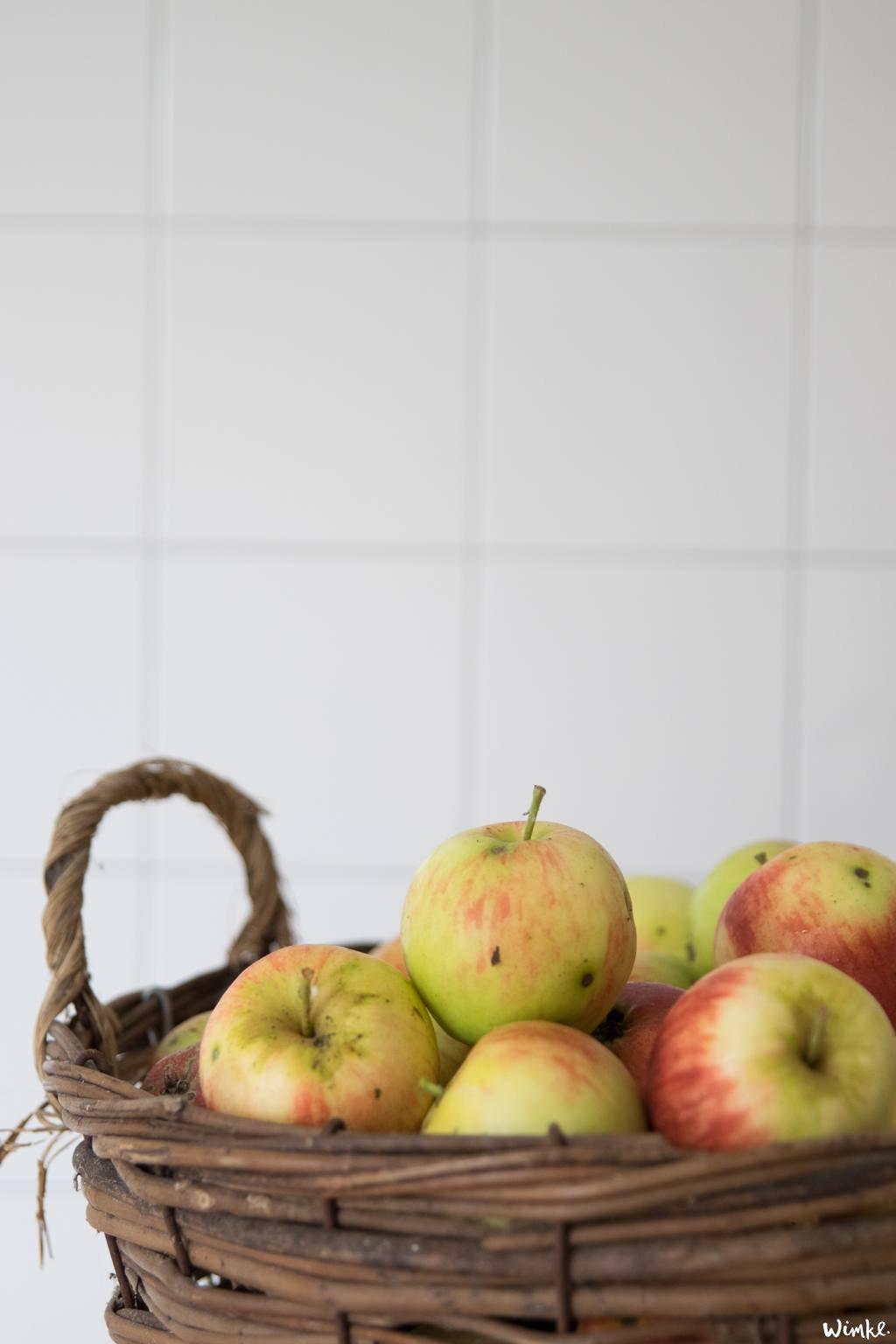 Van een mand geplukte appels maak je een appelclafoutis wimke.nl