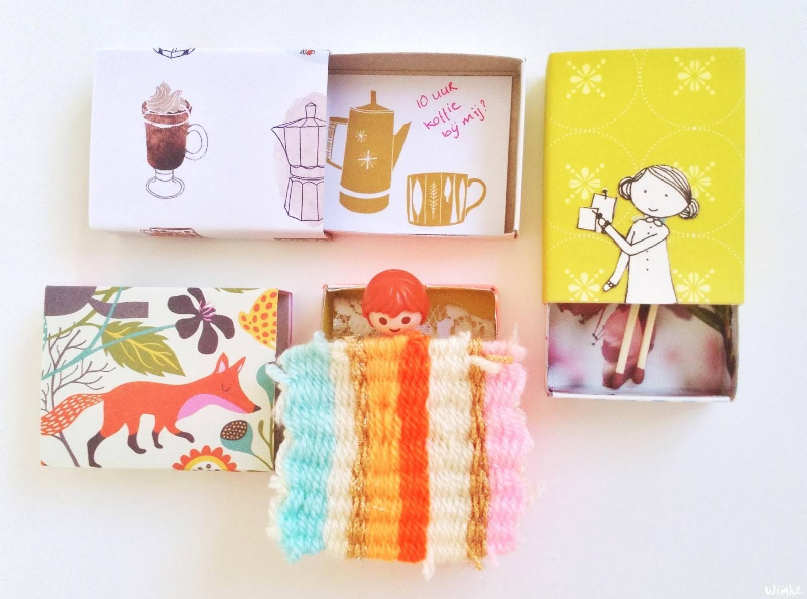 Pinterest DIY: mix and matchboxes -www.wimke.nl