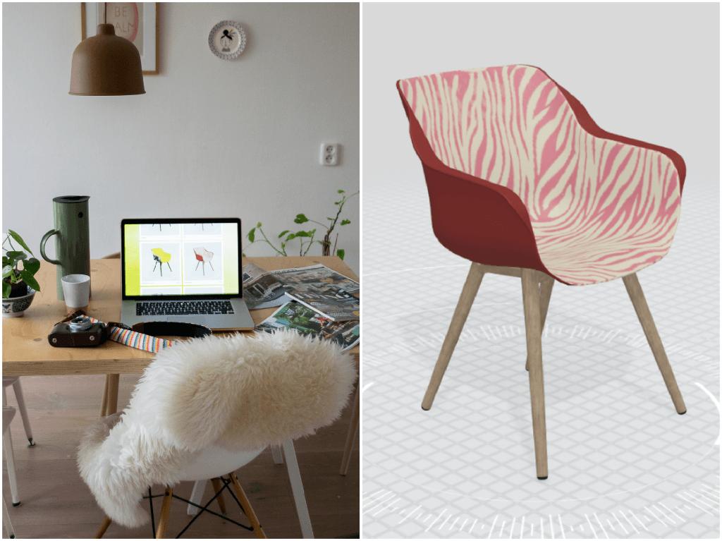 Tuinplannen maken met de Sophie stoelen van Hartman