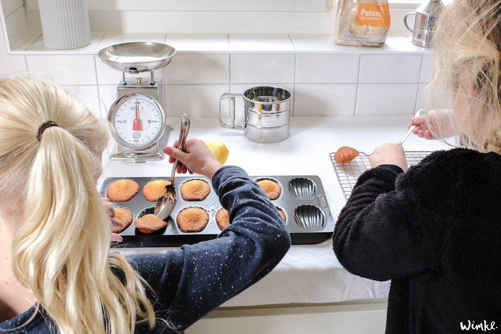 Recept van Rutger voor de lekkerste Madeleines - www.wimke.nl