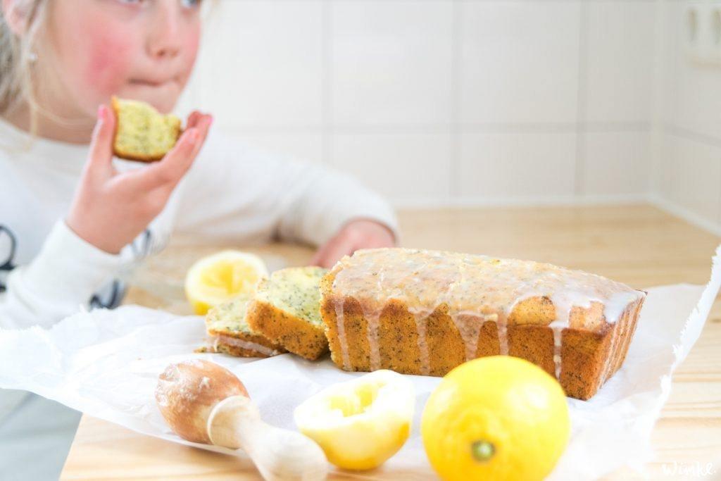 Recept cake met citroen en maanzaad
