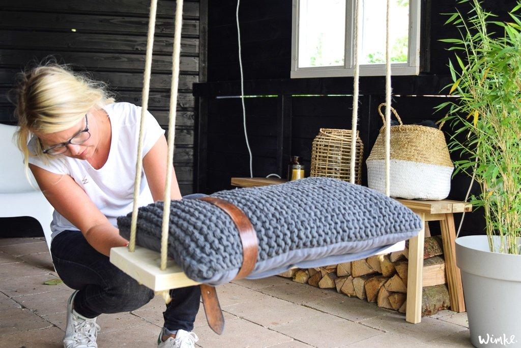 Maak deze schommel zelf in 7 stappen - www.wimke.nl