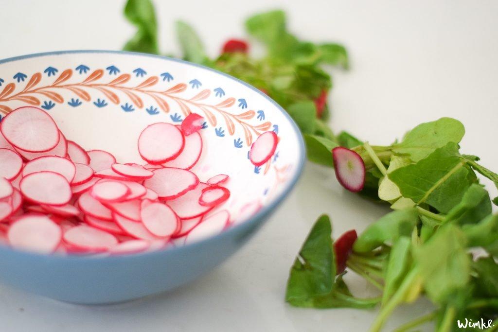 Recept voor radijsjes in zuur - www.wimke.nl