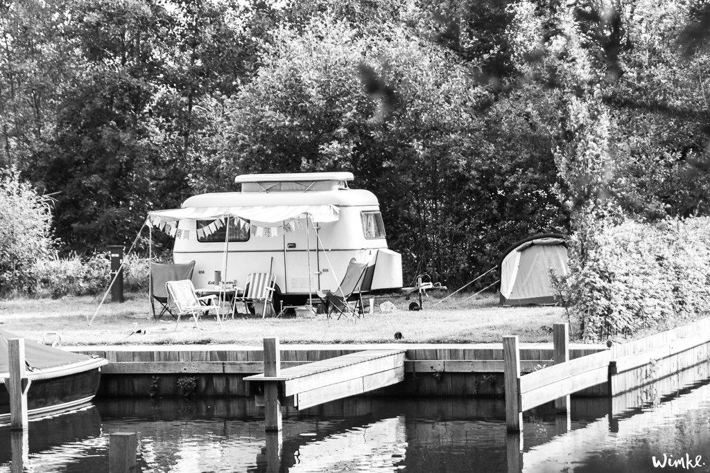 Kampeergeluk met een retro Eriba-Pan caravan uit 1984