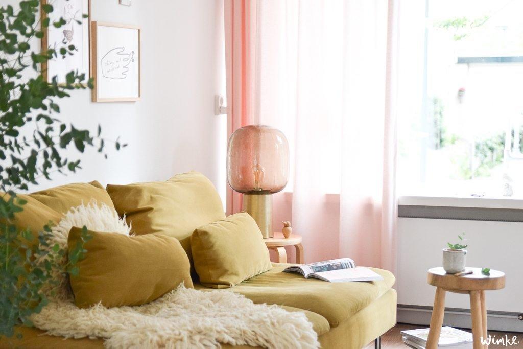Tafellamp Note van House Doctor als eyecatcher in huis - www.wimke.nl