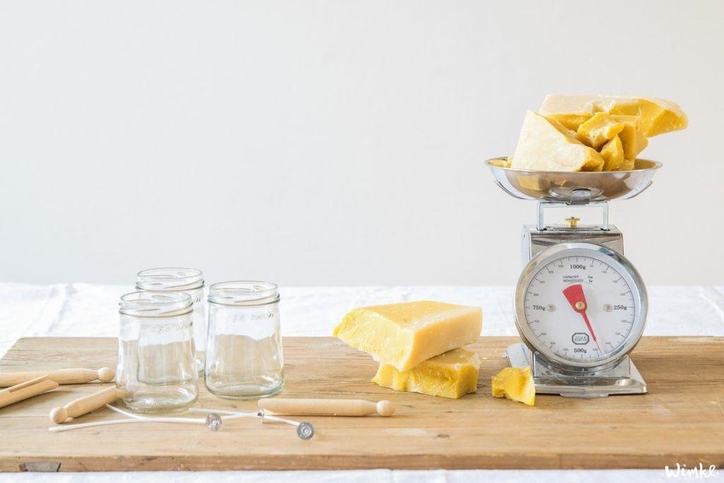 Zelf duurzame bijenwaskaarsen maken
