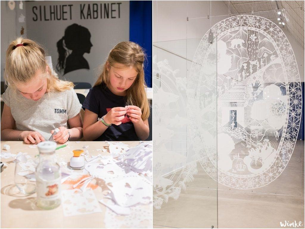 Papierknipkunst in Blokhus