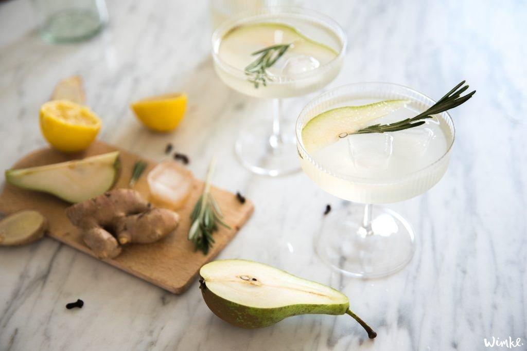 Perenlimonade, perziklimonade en een Mandarijn Crodino cocktail