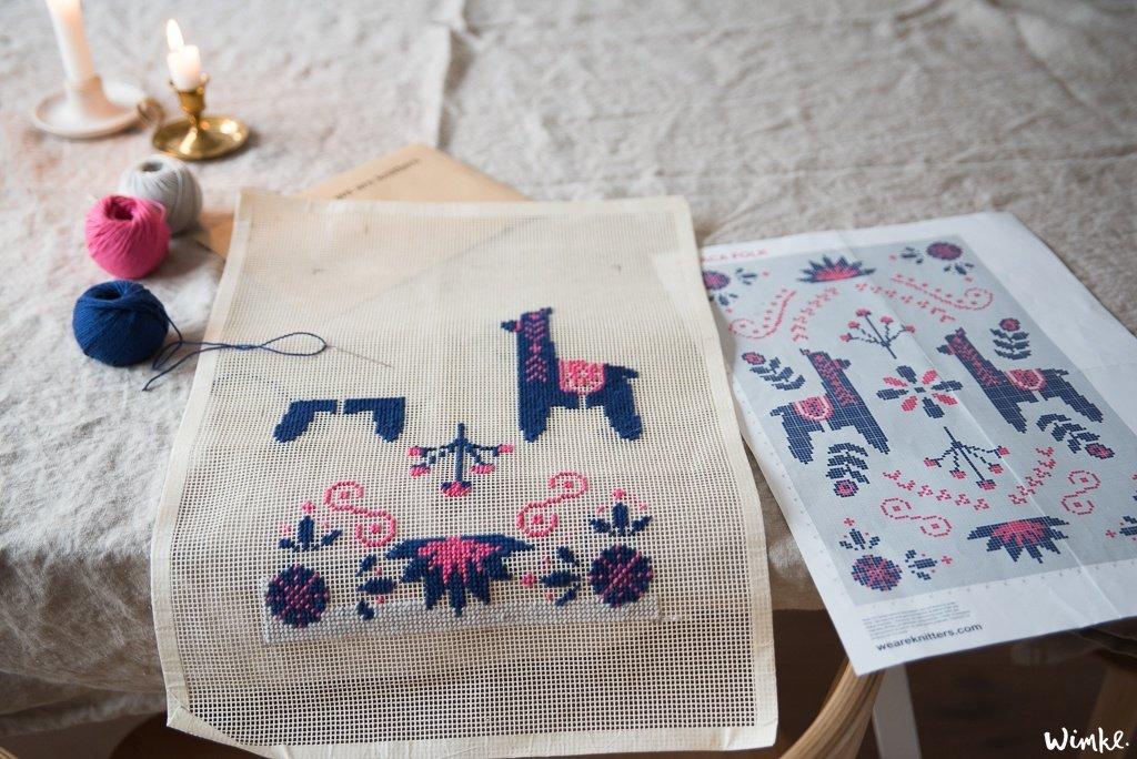 we are knitters - borduren - wimke.nl