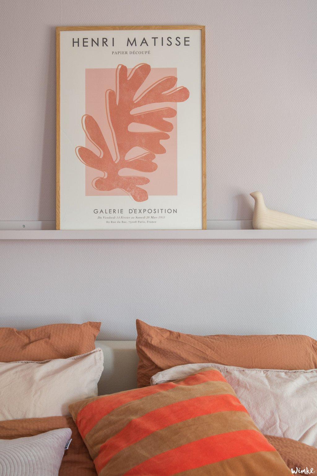 Lila in de slaapkamer - Iets heide - Wimke.nl