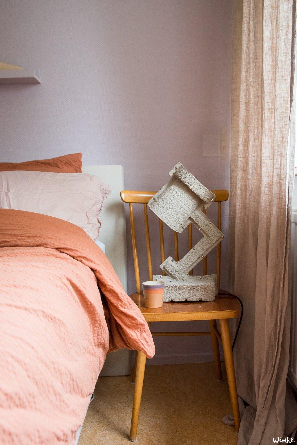 Tijd om de slaapkamer een opfrisser te geven, ik ging aan de slag. In 5 stappen naar een schitterend resultaat met iets heide van Flexa.