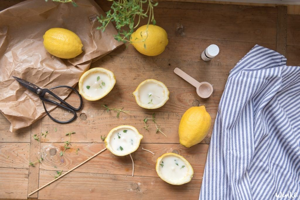 Citronella kaarsen maken
