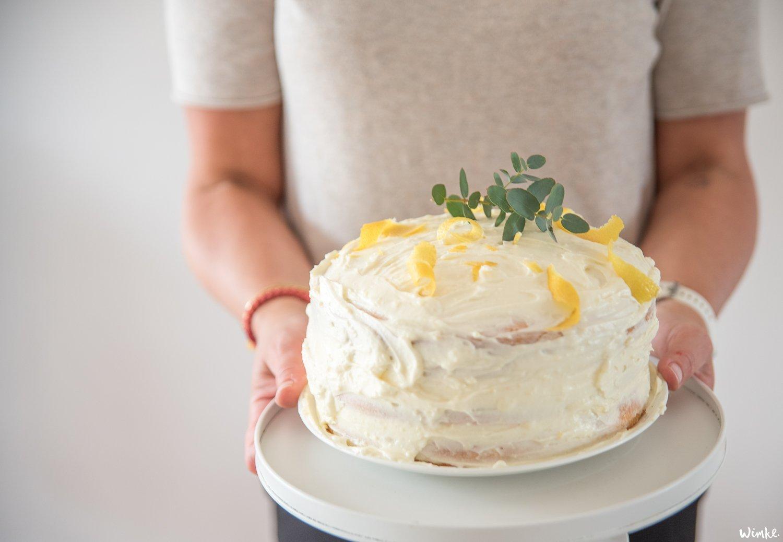Een naked cake; de ideale weekendtaart!
