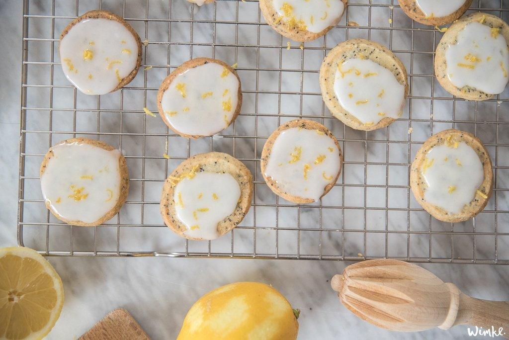 Recept lentekoekjes met citroen & maanzaad - shortbread koekjes - www.wimke.nl