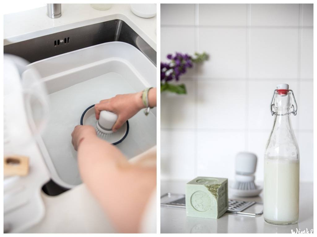 Afwassen en zelf afwasmiddel maken - www.wimke.nl