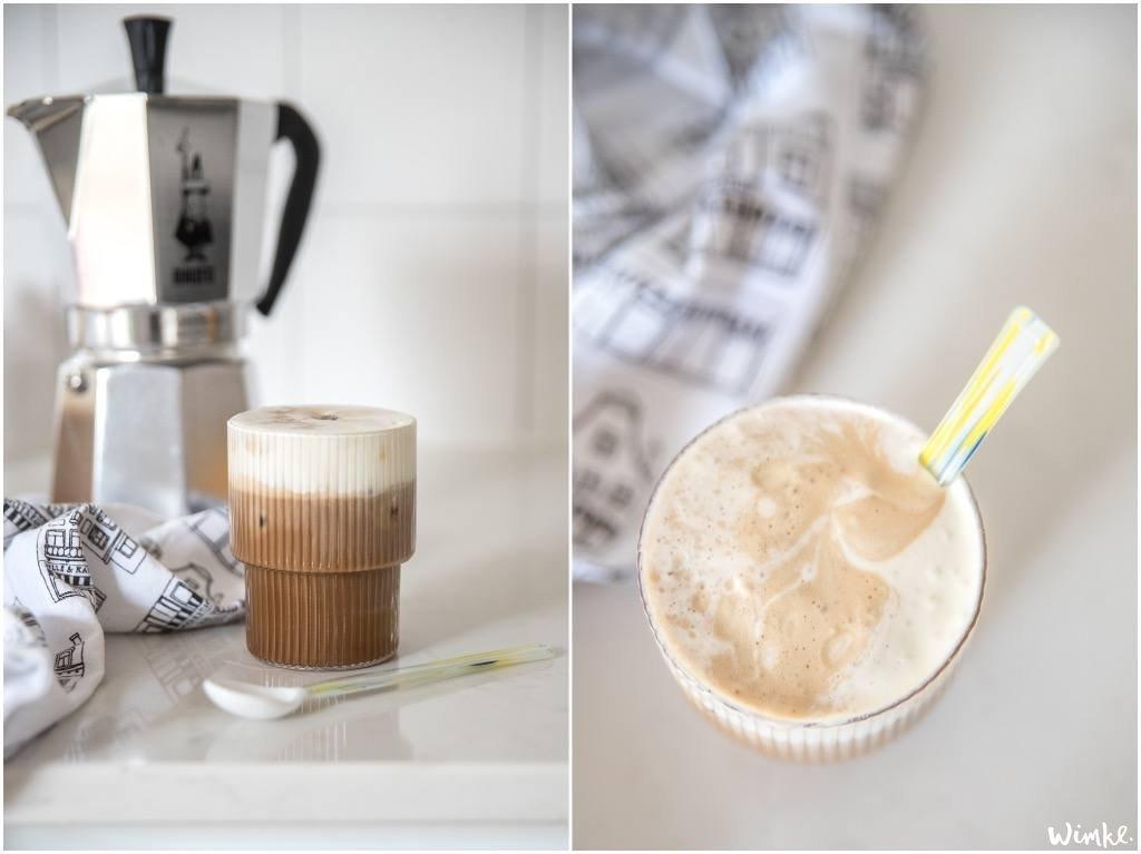 Koffie recepten - Romige ijskoffie