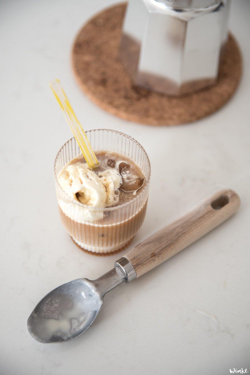 Koffie recepten - karamel ijskoffie